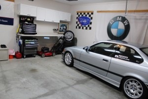 Cool Garage with BMW