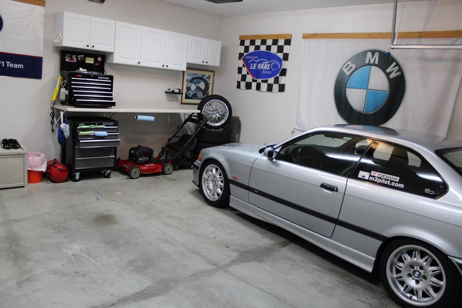 Steve 39 s garage m3 pilot for Garage bmw ile de france